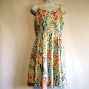 OLD NAVY Floral print summer dress XXL